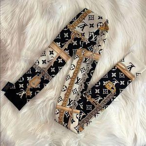 Louis Vuitton Silk Monogram Bandeau